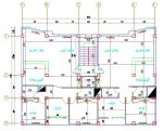 پروژه سازه فولادی 2 ( دفترچه محاسبات قابل ویرایش - نقشه اتوکد پلان ها - فایل ETABS 2018 )